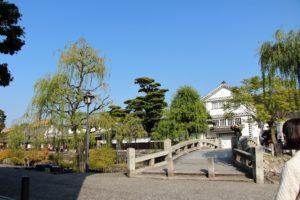 夏、新緑の季節の倉敷美観地区