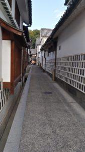 倉敷美観地区の小道
