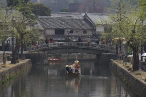 倉敷川の渡し舟に乗ってみよう♪