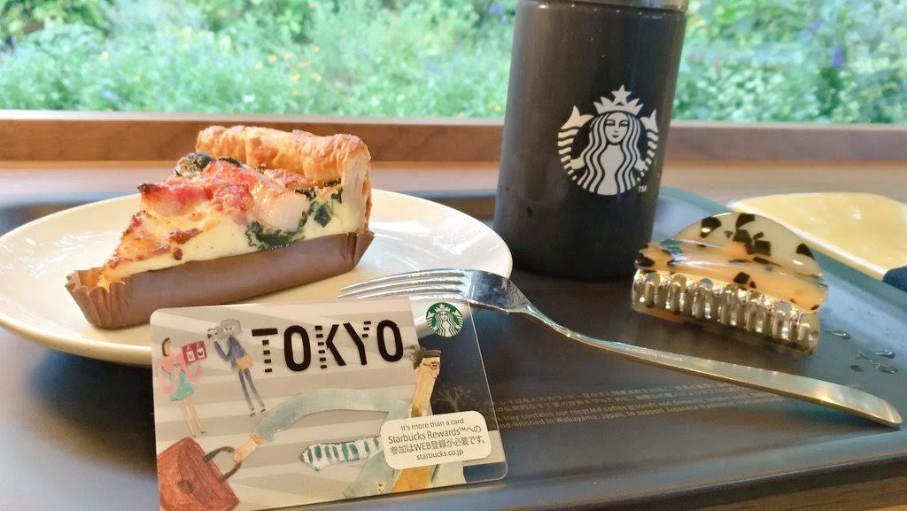 東京限定スタバカード