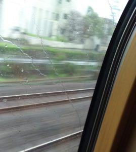 サンライズ出雲の車窓
