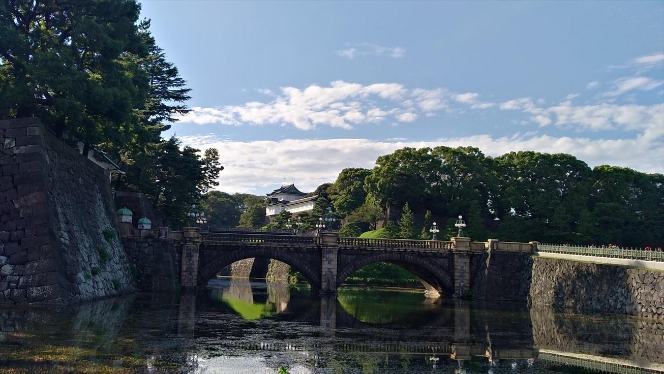 寝台列車で東京女一人旅〜その⑥皇居…日本人で良かった〜