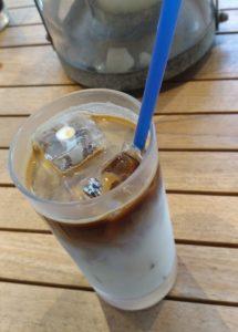渋谷で飲んだカフェラテ