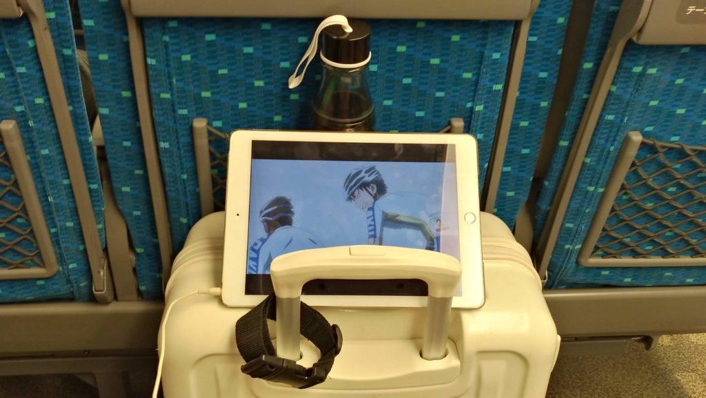 新幹線での過ごし方