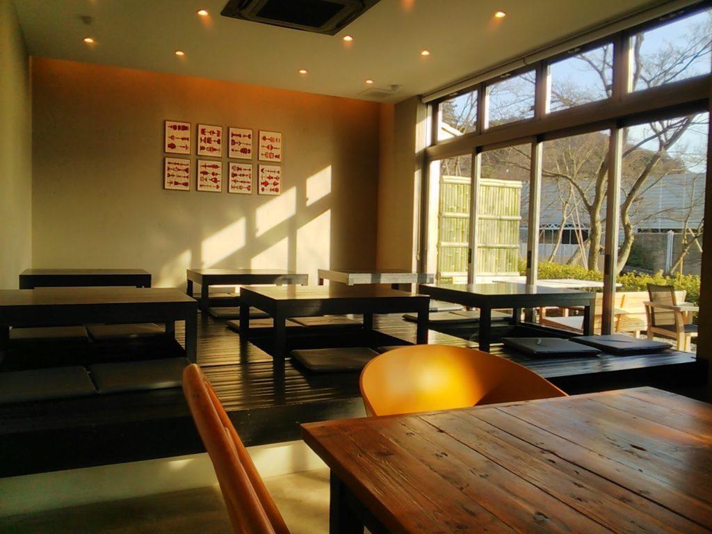 SLOW JET COFFEE(スロージェットコーヒー)高台寺の座敷席