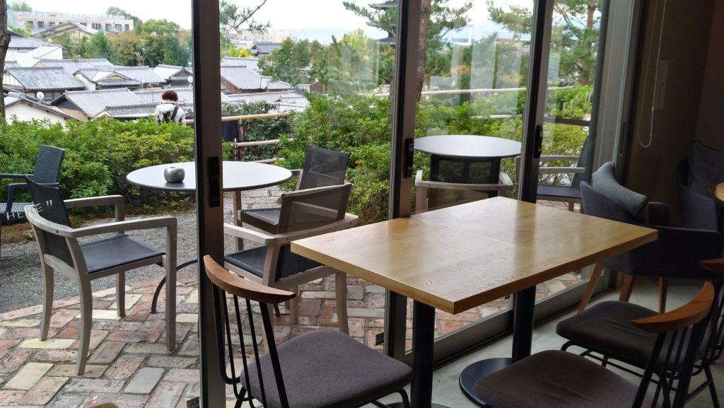 SLOW JET COFFEE(スロージェットコーヒー)高台寺からの眺め