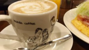 前田珈琲のマグカップ