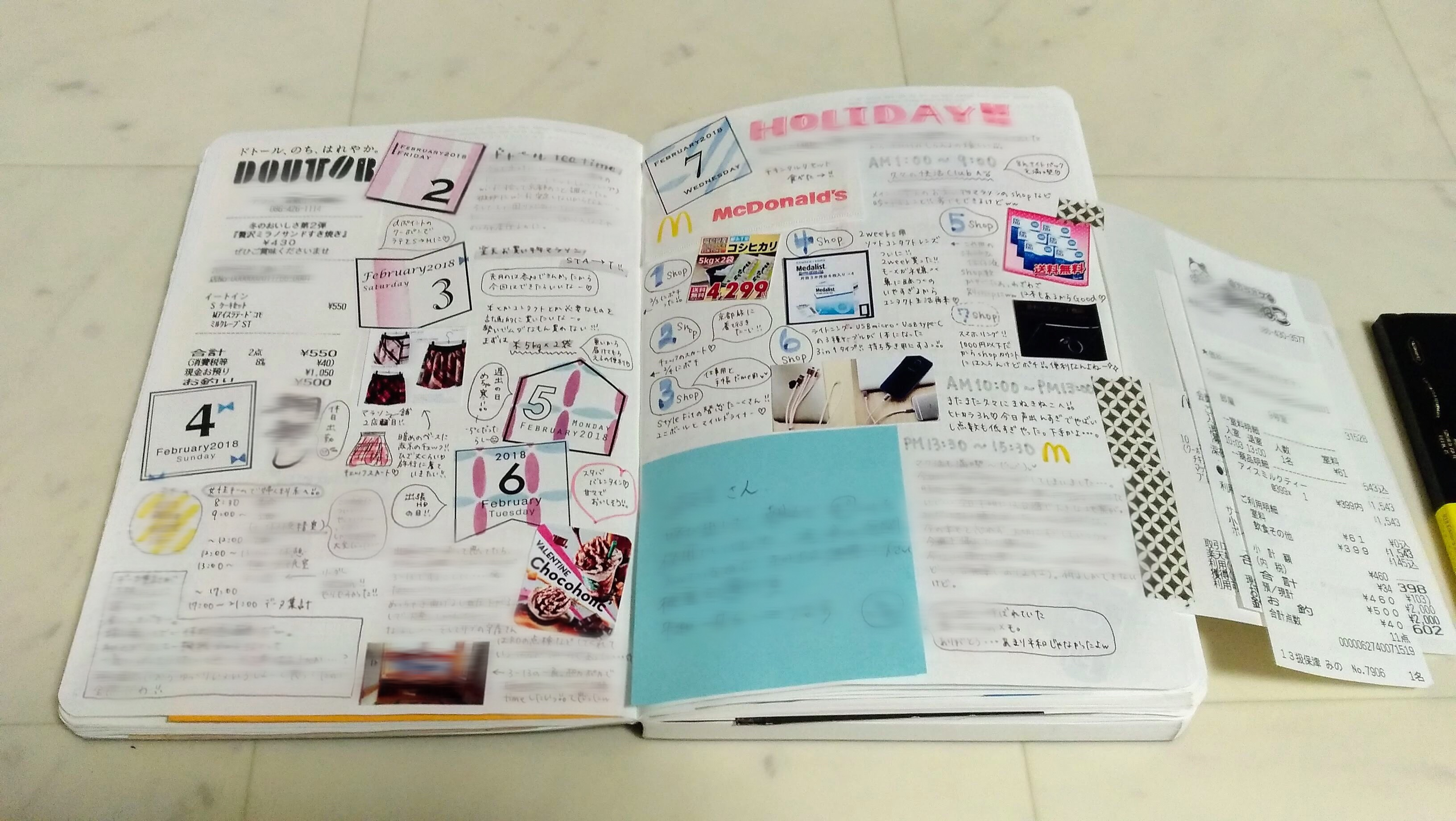 2019年│7冊の手帳・ノート達と共に♡それぞれの使い方を紹介【後編】