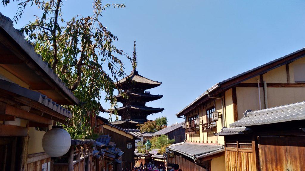 京都、八坂の塔