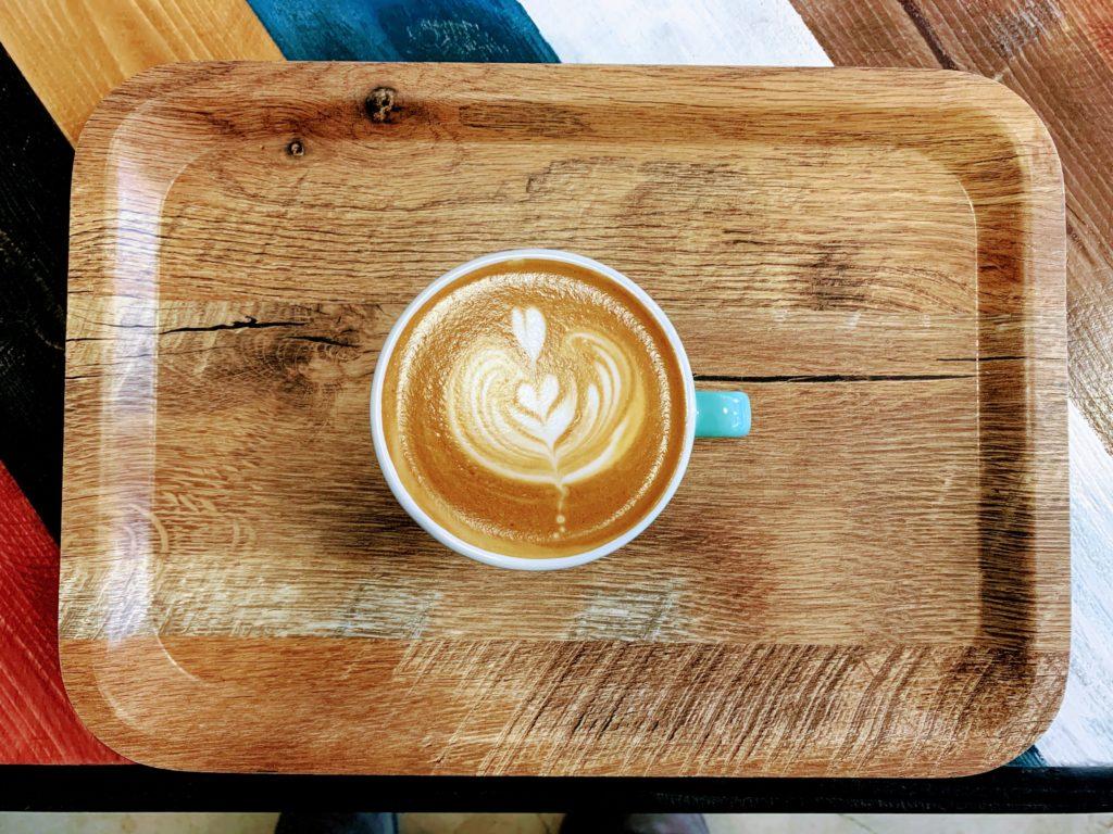 JOE's COFFEEのカフェラテ