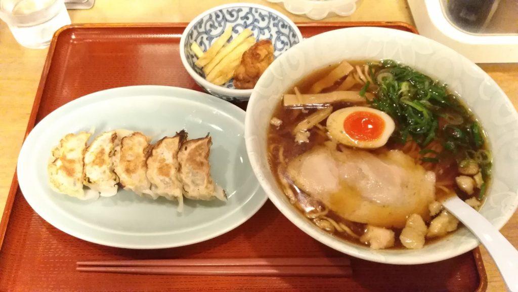 尾道ラーメン・餃子セット