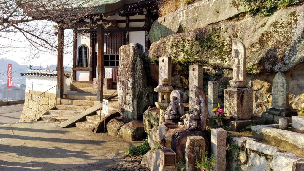 尾道・千光寺境内