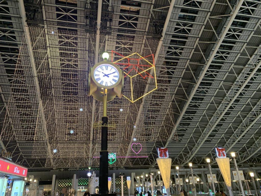 大阪駅の中