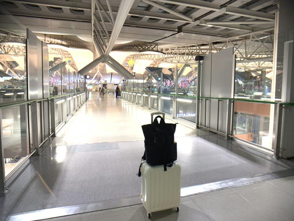 関西国際空港へ到着っ!!!