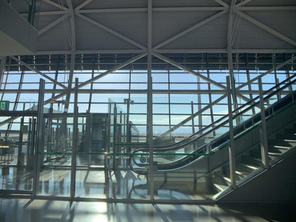 関西国際空港登場ゲート付近