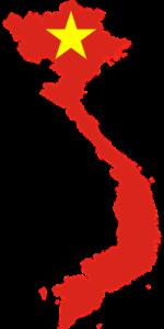 ベトナムの地図