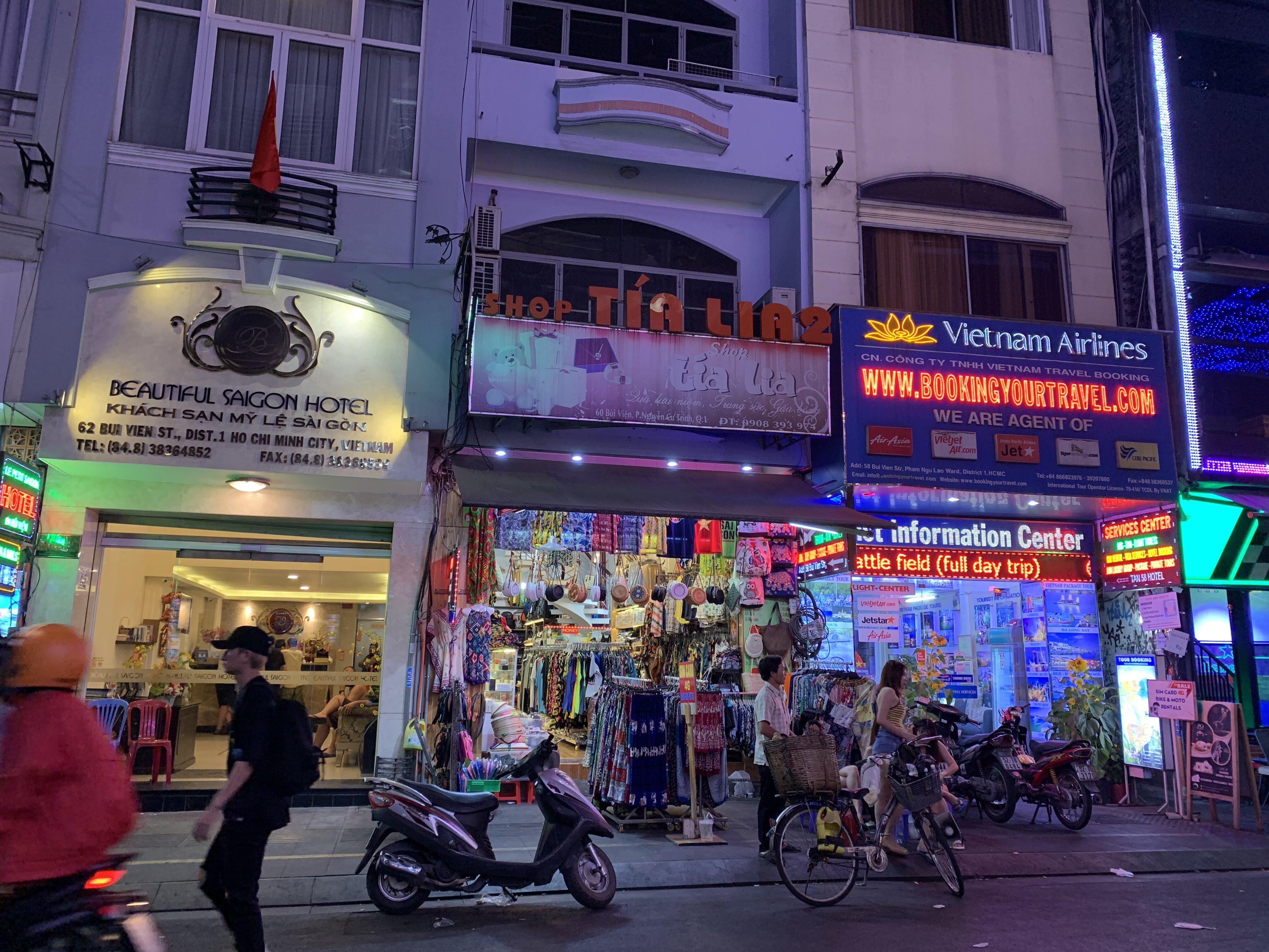 ベトナム一人旅④夜のホーチミン・バックパッカー街を歩く
