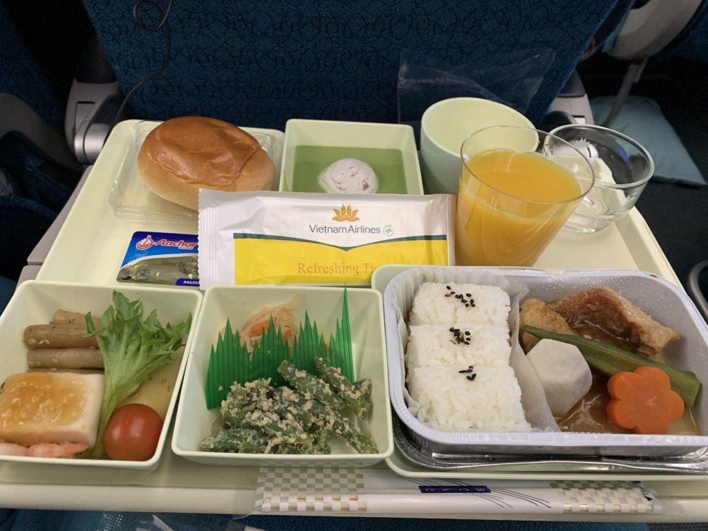 ベトナム航空のご飯