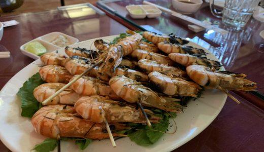 ベトナム一人旅⑪ホーチミン2区のレストラン~絶品の海鮮と夕陽♪~