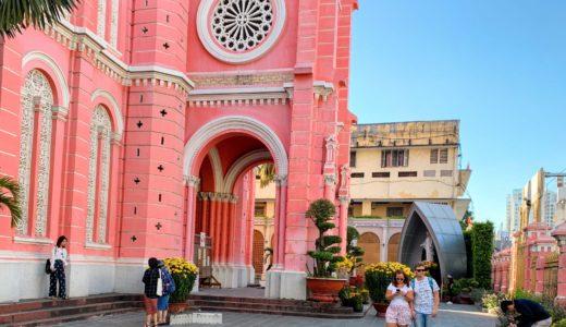 ベトナム一人旅⑮ピンク教会にびっくり~ローカル市場を散歩